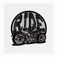 Ride Vintage Motorcycles Glasses Cloth (medium, Two Sides)