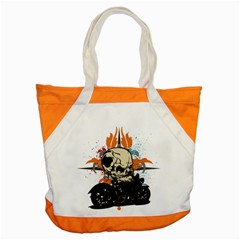 Skull Classic Motorcycle Accent Tote Bag