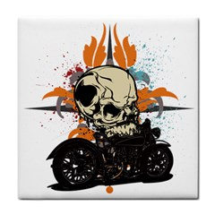 Skull Classic Motorcycle Face Towel