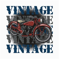 Vintage Motorcycle Multiple Text Shadows Canvas 20  X 24