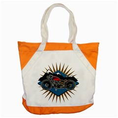 Classic Vintage Motorcycle Accent Tote Bag