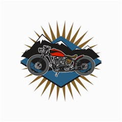 Classic Vintage Motorcycle Canvas 20  x 30