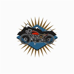 Classic Vintage Motorcycle Canvas 24  x 36