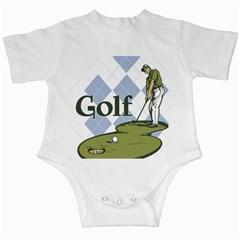 Classic Golf Infant Creeper
