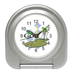 Classic Golf Travel Alarm Clock