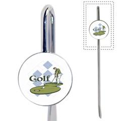 Classic Golf Book Mark