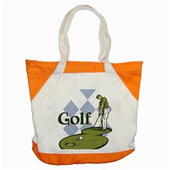 Classic Golf Accent Tote Bag