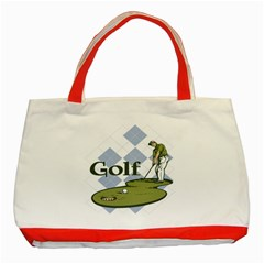 Classic Golf Classic Tote Bag (Red)
