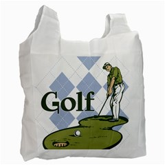 Classic Golf Recycle Bag (one Side)