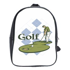 Classic Golf School Bag (Large)