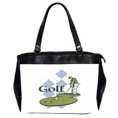 Classic Golf Oversize Office Handbag (two Sides)