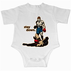 Stay Down Boxing Infant Creeper