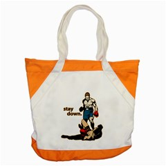 Stay Down Boxing Accent Tote Bag
