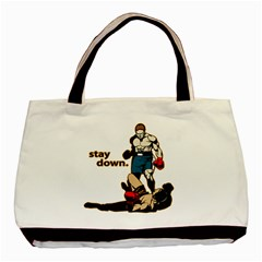 Stay Down Boxing Classic Tote Bag (two Sides)