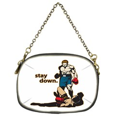 Stay Down Boxing Chain Purse (One Side)