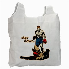 Stay Down Boxing Recycle Bag (two Side)