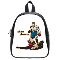 Stay Down Boxing School Bag (small)