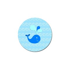Playing In The Waves Golf Ball Marker 4 Pack