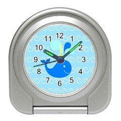 Playing In The Waves Desk Alarm Clock