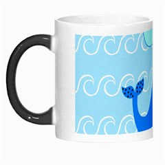Playing In The Waves Morph Mug