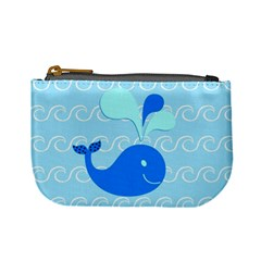 Playing In The Waves Coin Change Purse