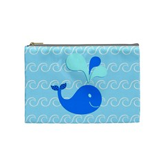 Playing In The Waves Cosmetic Bag (medium)