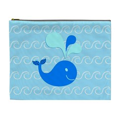 Playing In The Waves Cosmetic Bag (xl)