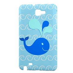 Playing In The Waves Samsung Galaxy Note 1 Hardshell Case
