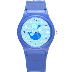 Playing In The Waves Plastic Sport Watch (Small)