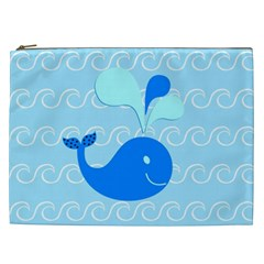 Playing In The Waves Cosmetic Bag (XXL)