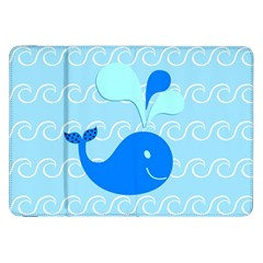 Playing In The Waves Samsung Galaxy Tab 8 9  P7300 Flip Case