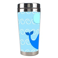 Playing In The Waves Stainless Steel Travel Tumbler