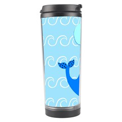 Playing In The Waves Travel Tumbler