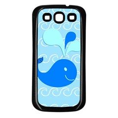 Playing In The Waves Samsung Galaxy S3 Back Case (Black)