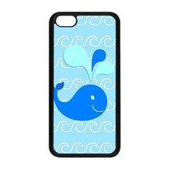 Playing In The Waves Apple iPhone 5C Seamless Case (Black)