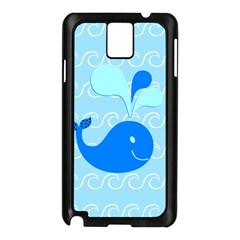 Playing In The Waves Samsung Galaxy Note 3 N9005 Case (Black)