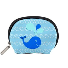 Playing In The Waves Mini Zipper Pouch