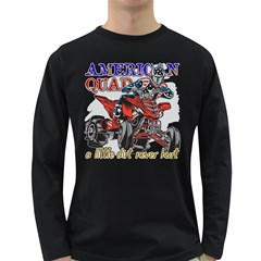 American Quad Long Sleeve Dark T-Shirt