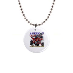 American Quad 1  Button Necklace