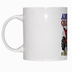 American Quad White Mug