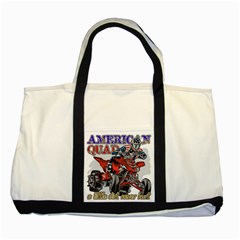 American Quad Two Tone Tote Bag