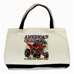 American Quad Classic Tote Bag (two Sides)