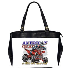 American Quad Oversize Office Handbag (two Sides)
