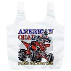 American Quad Full Print Recycle Bag (XL)