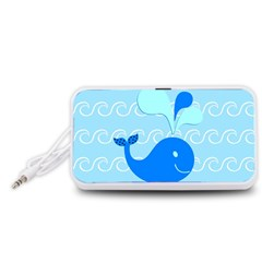 Playing in the Waves Portable Speaker (White)