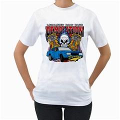 Demolition Derby Women s T-Shirt (White)