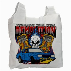 Demolition Derby Recycle Bag (One Side)