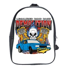 Demolition Derby School Bag (Large)
