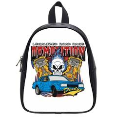 Demolition Derby School Bag (small)