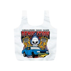 Demolition Derby Full Print Recycle Bag (S)